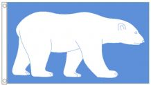 Polar Bear LGBT Gay Pride 5'x3' (150cm x 90cm) Flag